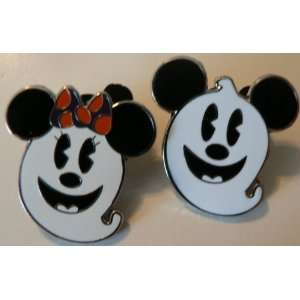 and Minnie Mouse Ghost Black & White Lot LOOK Nice