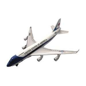 1100 Scale Die Cast Air Force One W/Stand Toys & Games