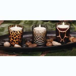 Glass Votive Candles 2.5   Jungle Night Scented