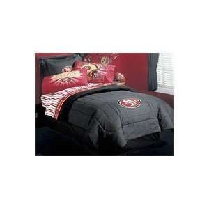 NFL Football San Francisco 49ers   Bed Sheet Set   Queen