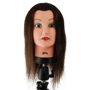 Celebrity 21 Cosmetology Mannequin Head 100% Human Hair
