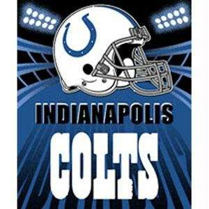 Indianapolis Colts Fleece NFL Blanket (Shadow Series) by Northwest