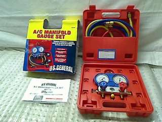 MANIFOLD GAUGE FOR AIR CONDITIONING SYSTEMS TADD