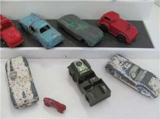 Old Vtg Tootsie Toy Truck Car Lot Junk Drawer Ford Jaguar Triumph