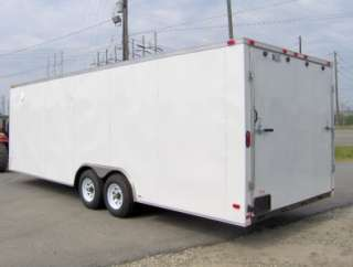 24 enclosed ATV cargo motorcycle trailer racecar car hauler toy hauler