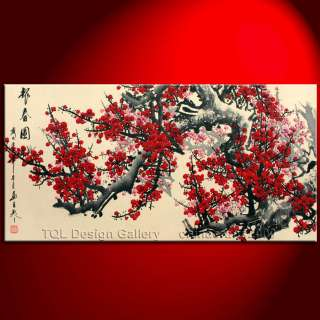 47 Original Japanese Cherry Blossom Signed Modern Asian Art
