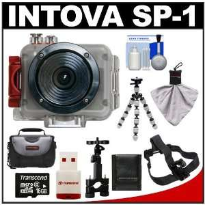Intova Sport Pro Waterproof HD Sports Video Camera Camcorder with Bike