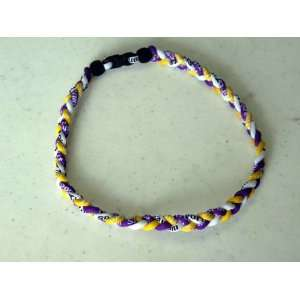 20 Energy Necklace in Purplr / White / Yellow Color Arts